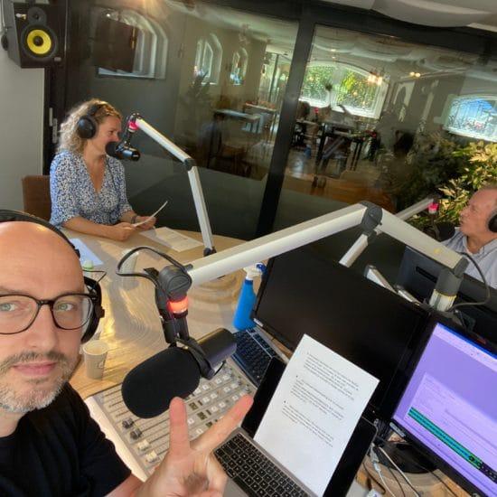 Podcast opname met Jelle Jolles
